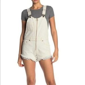 Free People Sunkissed Shortall 6 Overall Shorts